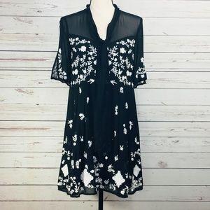 French Connection ~ Midnight Garden Dress
